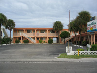 Empty Motel On Indian Rocks Beach August 13 2004